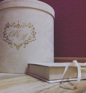 Коробка свадебная для денег и колец