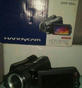 Видеокамера sony hdr-sr12e