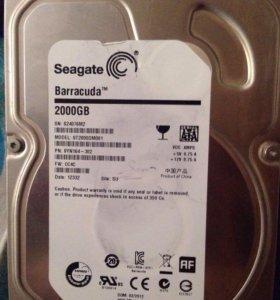 Жёсткий диск 2тб saegata