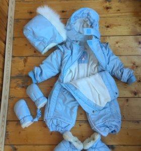 Детский зимний пуховик
