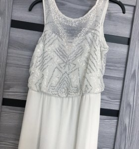 Платье в пол (с паетками )