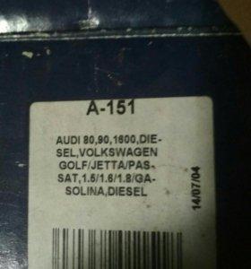 Помпа пассат Audi golf