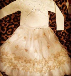 Детская кофта, юбка