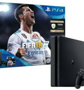 Sony Playstation 4 slim 500gb+FIFA18