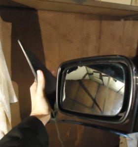 Зеркало правое бмв е65