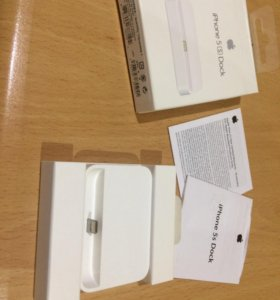 iPhone 5s Dock(зарядная станция)