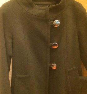 Пальто Zara 100% шерсть.