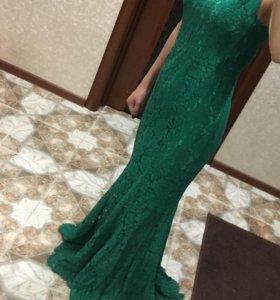 Длинное платье .