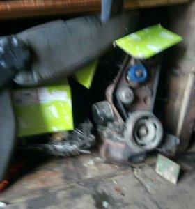 двигатель 2114 и коробка