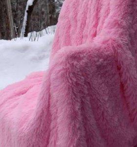 Новый нежно розовый плед!