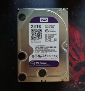 HDD WD Purple 2Tb