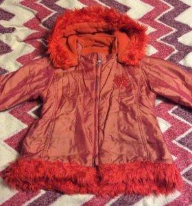 Демисезонная куртка на 6 лет