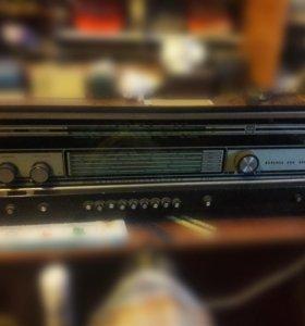 Радио проигрыватель ламповый Эстония 006 стерео