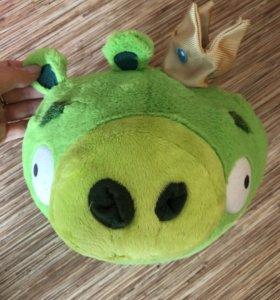 Свинка мягкая игрушка/подушка