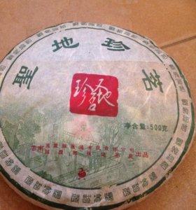 Коллекционный чай пуэр из Китая