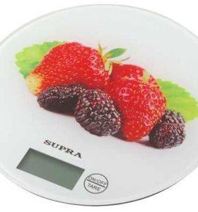 Весы кухонные до 5кг, 2 ААА Supra BSS-4601