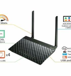 ADSL Модем-роутер Asus DSL-N12E