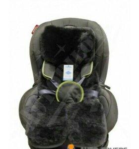 Накидки из натур. овечьей шерсти в детское кресло