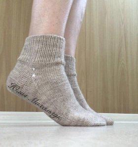 Вязаные носочки