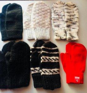 ❄️Варежки и перчатки