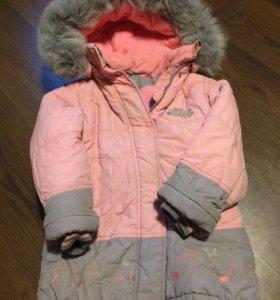 Куртка зима с мехом
