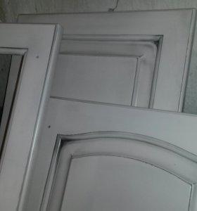 Покраска мебельных фасадов,мебели, дверей,лестниц