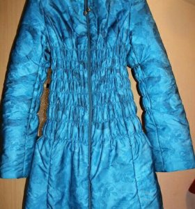 Зимняя куртка для беременных б/у, р-р 44-46