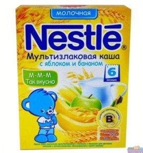Смесь Nutrilac и каши Nestle