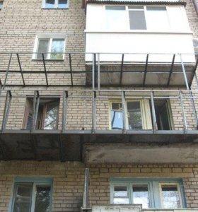 Балконы и лоджии с расширением. Частные мастера.