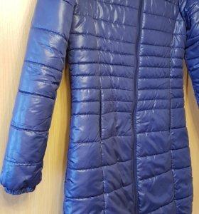 Пальто утепленное 44 р-р