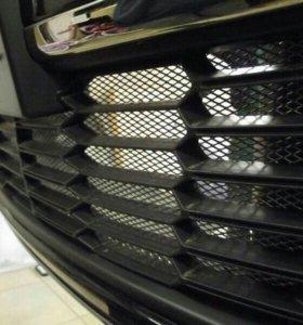 Сетка защитная в бампер автомобиля