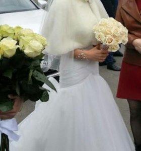 Шубка свадебная.