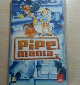 Диск с игрой Pipemania для PSP