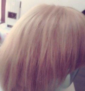 Парик натуральные волосы