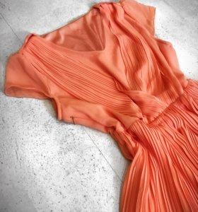 Платье плиссе 42-44