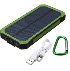 Зарядное Устройство с солнечной панелью.