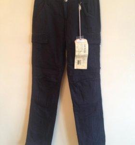 Новые джинсы черные, размер XS