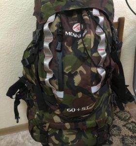 Рюкзак, вещевой мешок на 60+5L