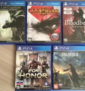 Продам игры для PS 4