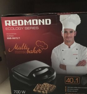 Вафельница Redmond новая