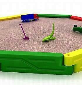 Песочница для игровой площадки - Медальон