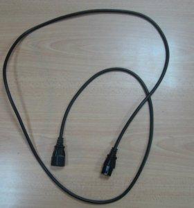 Шнур / кабель питания евро мама - мама