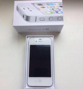 iPhone 4s 16gb White Новый