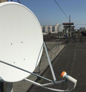 Спутниковое Телевидение - Эфирное Телевидение