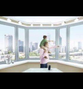 Окна ПВХ, балконы, лоджии, отделка