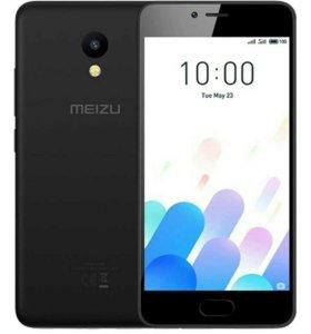 Смартфон Meizu M5c 16 гб+2Gb черный рст новый