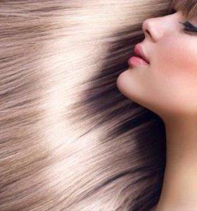 Ботокс для волос,кератирование.