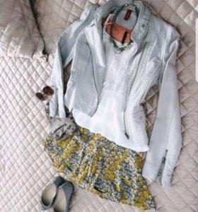Жакет+юбка/клатч