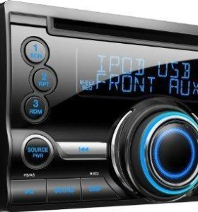 2-DIN Clarion (Япония) CX211BK (CD/MP3/USB/AUX)