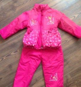 Комбинезон зимний детский, куртка и штаны